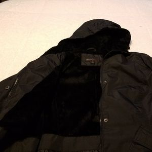 Jason Kole Hooded Black Jacket